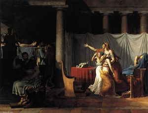 Jacques Louis David - The Lictors Returning to Brutus the Bodies of his Sons