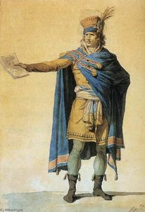 Jacques Louis David - The Representative of the People on Duty