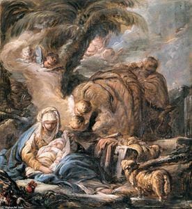 Jean Baptiste Deshays - The Flight into Egypt