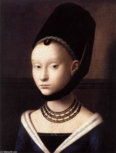 Petrus Christus - Portrait of a Young Girl