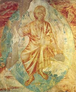 Cimabue - Apocalyptical Christ (detail)