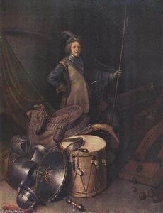 Gerrit (Gérard) Dou - Officer of the Marksman Society in Leiden