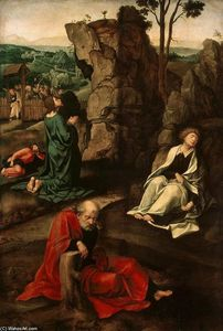 Pieter Coecke Van Aelst - Agony in the Garden