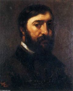 Gustave Courbet - Portrait of Adolphe Marlet