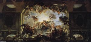Charles Antoine Coypel - Assembly of Gods