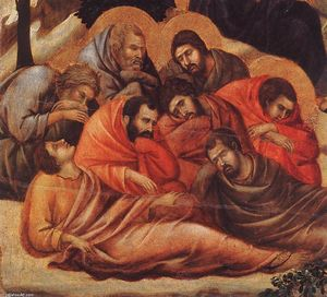 Duccio Di Buoninsegna - Agony in the Garden (detail)