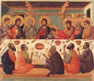 Duccio Di Buoninsegna - Last Supper