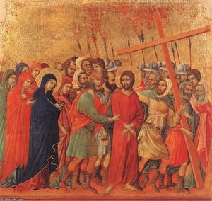 Duccio Di Buoninsegna - Way to Calvary