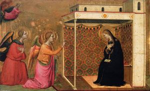 Bernardo Daddi - The Annunciation