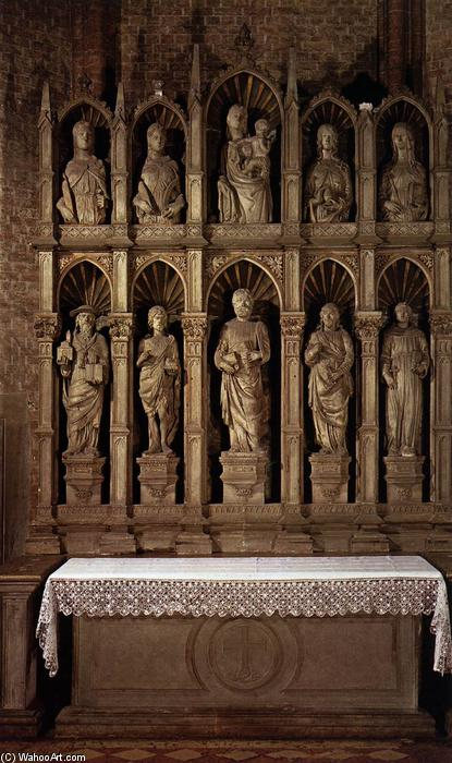 Altarpiece, Marble by Jacobello Dalle Masegne (1350-1409, Italy)