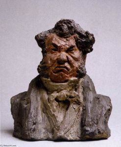 Honoré Daumier - Laurent Cunin, Politician (The Angry Man)