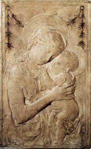 Desiderio Da Settignano - Virgin and Child
