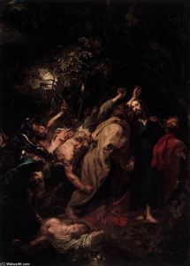 Anthony Van Dyck - The Capture of Christ