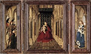 Jan Van Eyck - Small Triptych