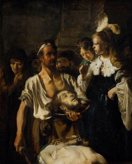 The Beheading of St. John the Baptist, Oil On Canvas by Carel Fabritius (1622-1654, Netherlands)