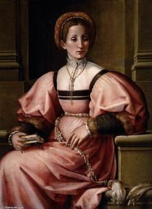 Pierfrancesco Di Jacopo Foschi - Portrait of a Lady