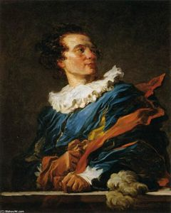 Jean-Honoré Fragonard - Abbé de Saint-Non (Fanciful Figure)