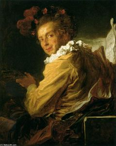 Jean-Honoré Fragonard - Monsieur de la Bretèche (Fanciful Figure)