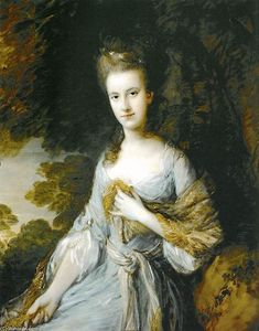 Thomas Gainsborough - Portrait of Sarah Buxton
