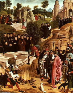 Geertgen Tot Sint Jans - The Bones of St. John the Baptist