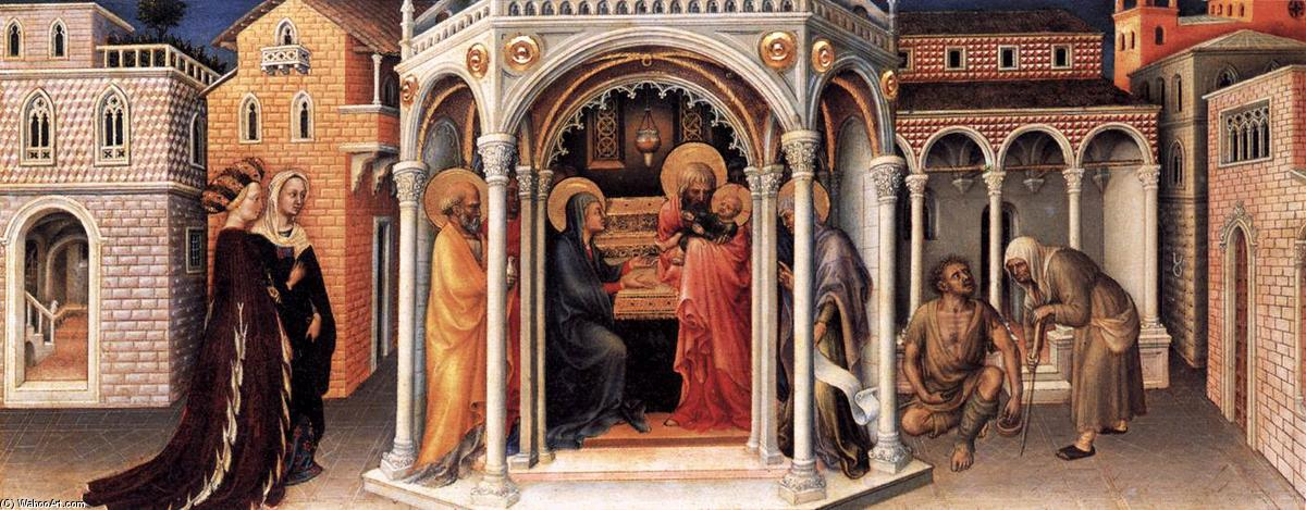 Presentation of Christ in the Temple, 1423 by Gentile Da Fabriano (1370-1427, Italy) | Museum Quality Copies Gentile Da Fabriano | WahooArt.com