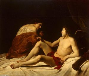 Orazio Gentileschi - Cupid and Psyche