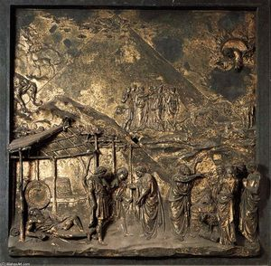 Lorenzo Ghiberti - Noah and the Flood