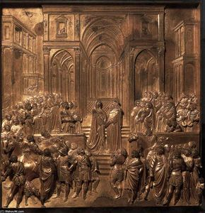 Lorenzo Ghiberti - Solomon and the Queen of Sheba