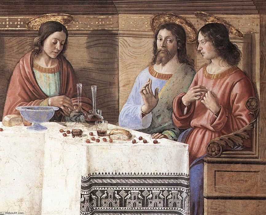 Last Supper (detail) (12), 1486 by Domenico Ghirlandaio (1449-1494, Italy) | Art Reproduction | WahooArt.com