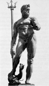 Giambologna - Neptune from the Fountain of Neptune