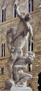 Giambologna - Rape of the Sabines (back view)