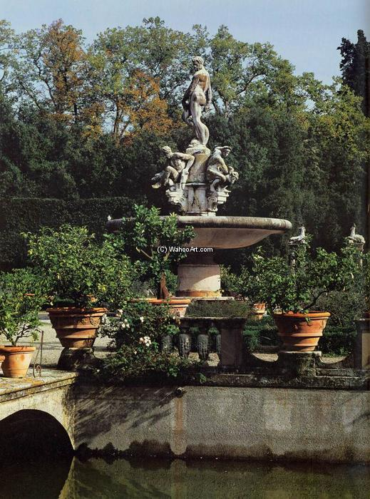 Order Famous Paintings Reproductions : The Fountain of Oceanus, 1576 by Giambologna (1529-1608, France) | WahooArt.com