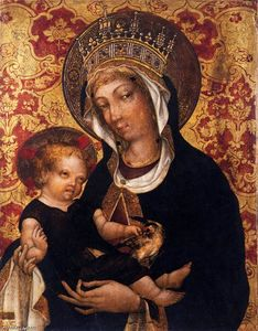 Michele Giambono - Virgin and Child