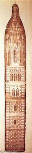 Giotto Di Bondone - Design sketch for the Campanile