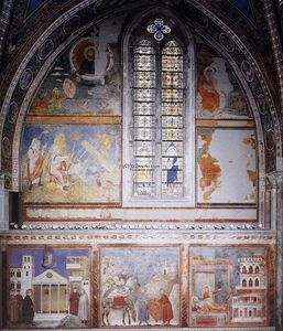 Giotto Di Bondone - Frescoes in the fourth bay of the nave
