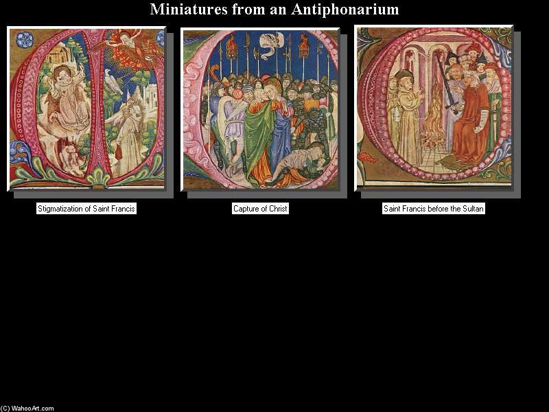 Miniatures, 1450 by Giovanni Di Paolo (1403-1482, Italy)