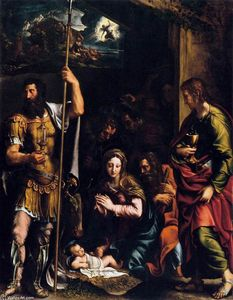 Giulio Romano - Adoration of the Shepherds