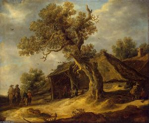 Jan Van Goyen - Landscape with Oak