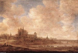 Jan Van Goyen - View of Leiden