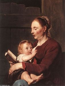 Pieter De Grebber - Mother and Child