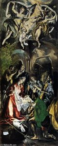 El Greco (Doménikos Theotokopoulos) - Adoration of the Shepherds