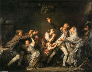 Jean-Baptiste Greuze - The Father's Curse: The Ungrateful Son