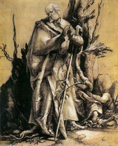 Matthias Grünewald - St John in the Forest