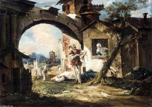 Gianantonio Guardi - The Amorous Turk