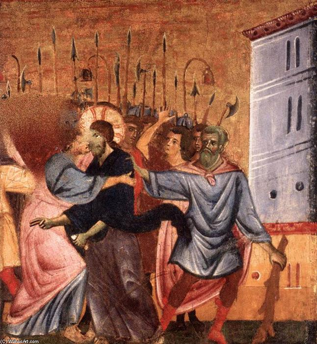 Order Art Reproductions | Kiss of Judas, 1270 by Guido Da Siena (1230-1290, Italy) | WahooArt.com