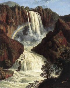 Jacob Philippe Hackert - The Waterfalls at Terni