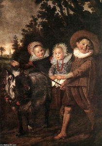 Frans Hals - Group of Children