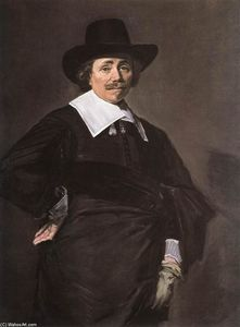 Frans Hals - Portrait of a Standing Man