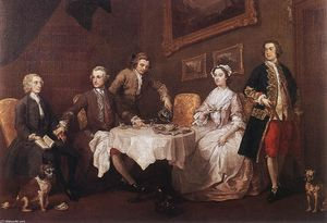 William Hogarth - The Strode Family