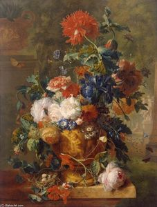 Jan Van Huysum - Flowers